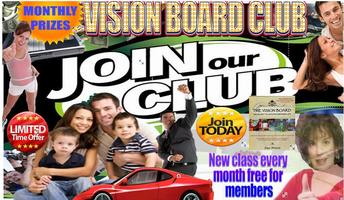 Join the OFFICIAL 2015-16 Vision Board Club $99.00 Get...