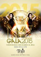 Open Bar New Years Eve party at Teqa Lounge, dinner...