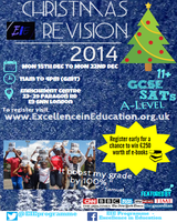 Christmas Revision Sessions - 11plus, GCSE and A-Level...
