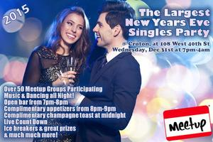 New Year's Eve Singles Party 2015 (Open Bar, Apps, DJ,...