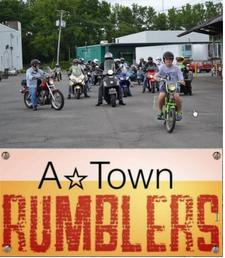 A*Town Rumblers logo