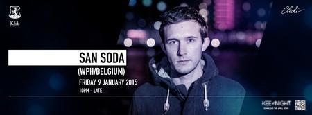 Cliché Records Presents San Soda (WPH/BELGIUM)