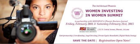3rd Annual Phoenix Women INVESTING in Women Summit