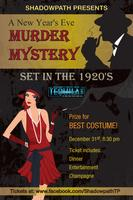 New Year's Eve Murder Mystery - set in the 1920's!
