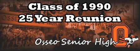 Osseo Class of 1990 25 Year Reunion