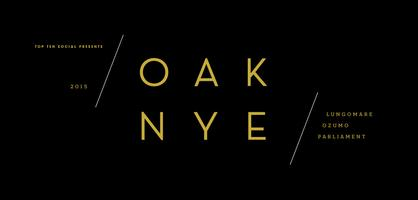 OAK NYE 2015: New Year's Eve at Parliament