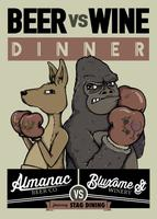 Beer vs Wine Dinner