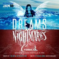 DREAMS & NIGHTMARES | SUNDAY, JANUARY 18TH, 2015
