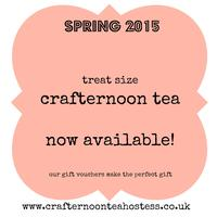 Treat Size Crafternoon tea, Craft A Vintage Style...
