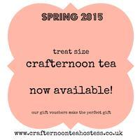 Treat Size Crafternoon tea, Stitch A Pretty Postcard