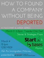 Founding a Company Without Being Deported
