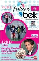 Pure Fashion Show at Belk at The Forum 2013