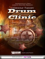 "Gareth Hunter presents ""Groove Theory Drum Clinic"""