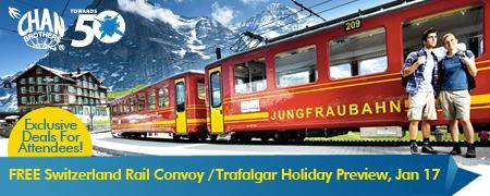 Switzerland Rail Convoy / Trafalgar Holiday Preview!...
