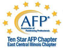 Association of Fundraising Professionals East Central Illinois Chapter AFPECI logo