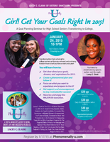 Phenomenally U: Girl!, Get Your Goals Right in 2015!
