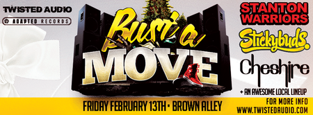 Bust A Move feat. STANTON WARRIORS / STICKYBUDS /...