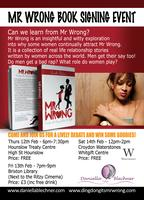 Mr Wrong Book Signing Event Waterstones Croydon