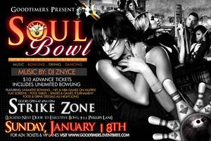 Goodtimers Soul Bowl Dayparty - MLK Weekend Edition
