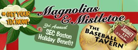 Magnolias & Mistletoe - 3rd Annual SEC Holiday Benefit
