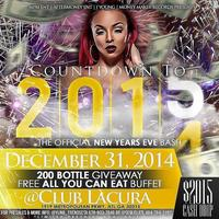 Countdown To 2015! New Years Eve Bash Wednesday...