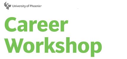 Career Workshop Series Workshop 4 of 6