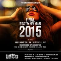 THE FINAL INDUSTRY NEW YEARS PARTY!