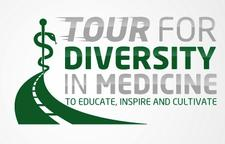 Tour for Diversity in Medicine logo