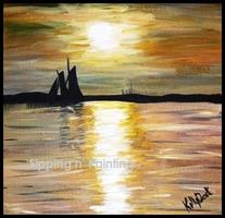 Sip N' Paint Amelia Island Saturday May 25th, 7:30pm