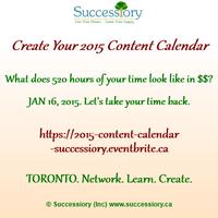 Create Your 2015 Content Calendar