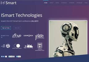 ISmart - Israel's first iOT ISmart Tech Conference
