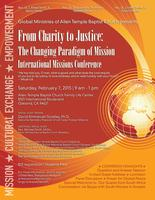 From Charity to Justice International Missions Conferen...