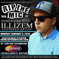 ILLIZEM PERFORMNG LIVE   RIP THE MIC @ ELM STREET BAR