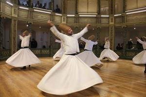 "ABQ ""WHIRLING DERVISHES of RUMI with SUFI MUSIC..."