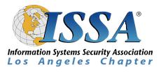 ISSA LA-OWASP March Dinner Meeting