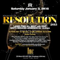 THE RESOLUTION 2015: Celebrating New Year & New...