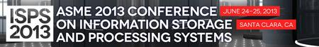 ASME Annual Conference on Information Storage and Process...