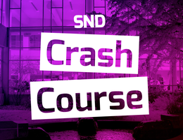 #SNDCrashCourse