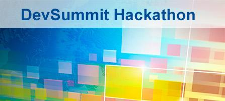 Esri Dev Summit Hackathon
