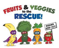 Fruits and Veggies To The Rescue! Class (ages 4-10)