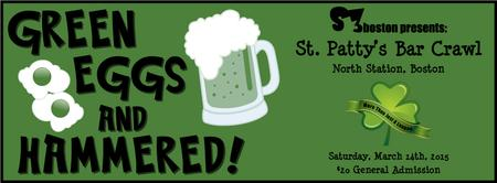 Green Eggs and Hammered! St. Paddy's Day Crawl! SOLD...