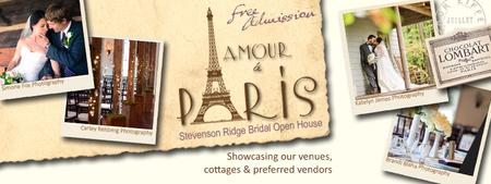 "Stevenson Ridge Bridal Open House ""Love in Paris"""