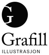 Grafill illustrasjon logo