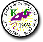 Krewe of Carrollton Royal Walkabout 2015
