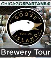 Chicago Spartans Goose Island Brewery Tour
