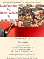 Live Painting w/ Naomi Walker & PA Wine Tasting