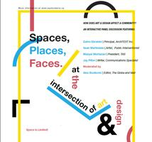 Spaces, Places, Faces: The Intersection of Art & Design