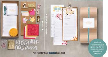 Perpetual Calendar Class -never forget a birthday or...