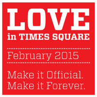 Times Square Renewal of Vows 2015
