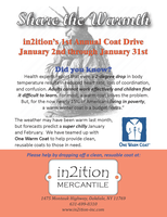 Share the Warmth 1st Annual Coat Drive